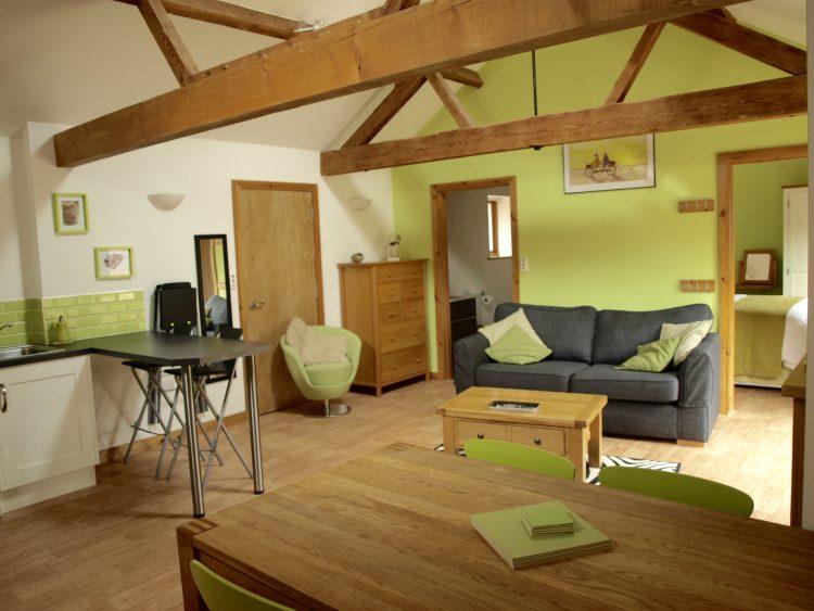 The Courtyard - Lounge at Lodge Farm Holiday Barns